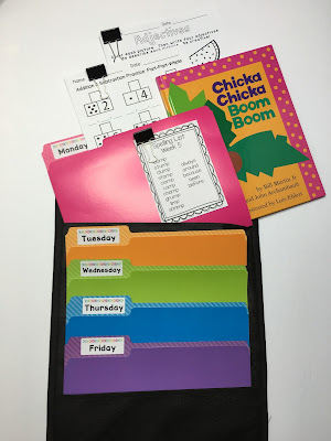 This is a great idea for classroom organization and organizing all of the PAPERS you have in your classroom.  Put your lesson plans and student work in each of the daily file folders.  This will keep the mess off of your desk, and it will be easily accessible.   (Great for an emergency sub too!)