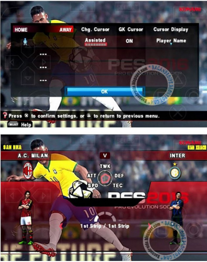 PES 2016 ISO Pacth Galaxy11 V3 Android