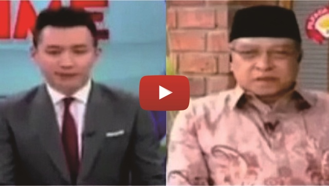 VIDEO: Ingin Jebak Soal Ahok, Jawaban KH Said Aqil Siradj Ini Bikin Kaget Penyiar Metro TV