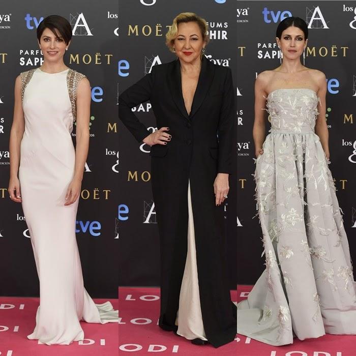 goya 2015, estilo, cine, español, blogger, alfombra