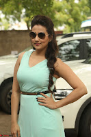 Manjusha in beautiful thin green gown At Jaya Janaki Nayaka le Logo Launch ~  Exclusive 097.JPG