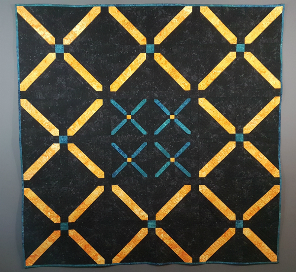Cross Stitch Quilt | DevotedQuilter.blogspot.com