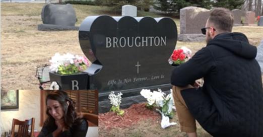 Le père de cette jeune femme est mort il y a quelques années de ça. Mais lorsqu'elle voit qui est agenouillé devant sa tombe, elle est submergée par l'émotion.