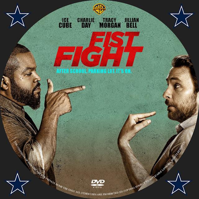Fist Fight DVD Label