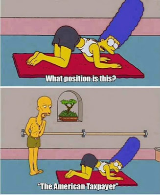 funny scene from simpsons