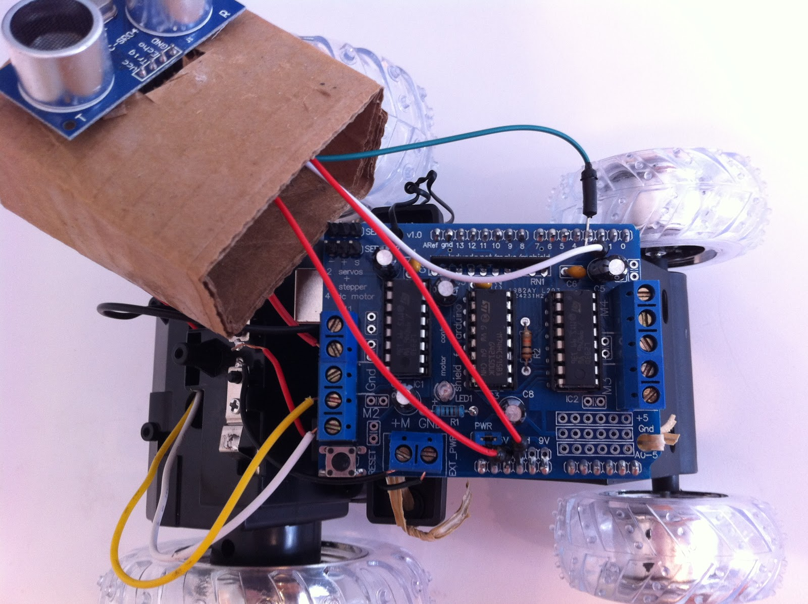 Robot Tutorials Using The Arduino Microcontroller Wiring Motor Shield