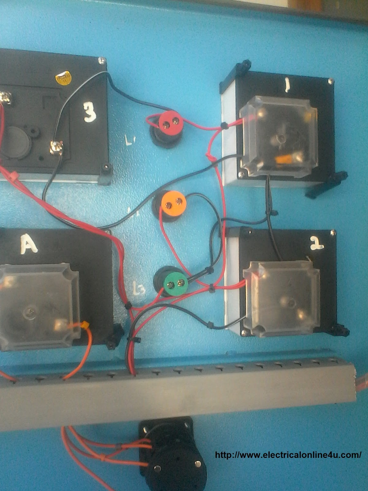 Digital Ammeter Wiring With Current Transformer Ct Coil Electrical