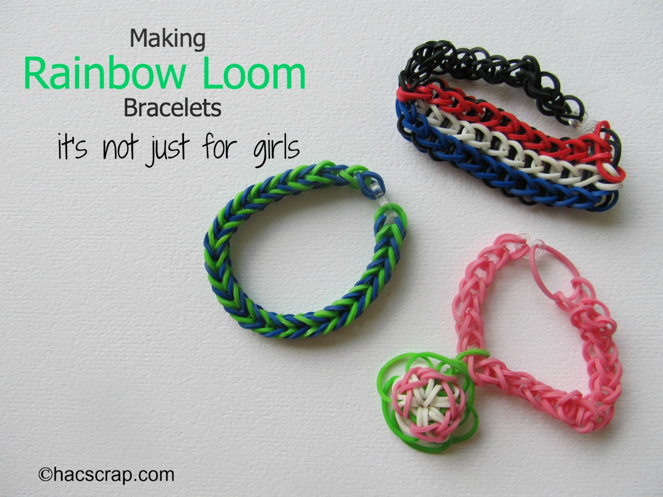 Rainbow Loom It S Not Just For Girls