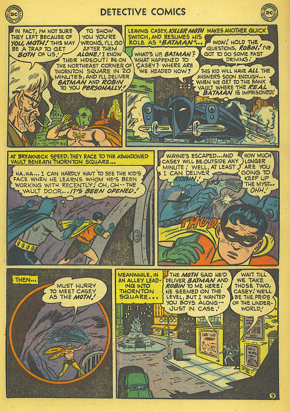 Read online Detective Comics (1937) comic -  Issue #173 - 12