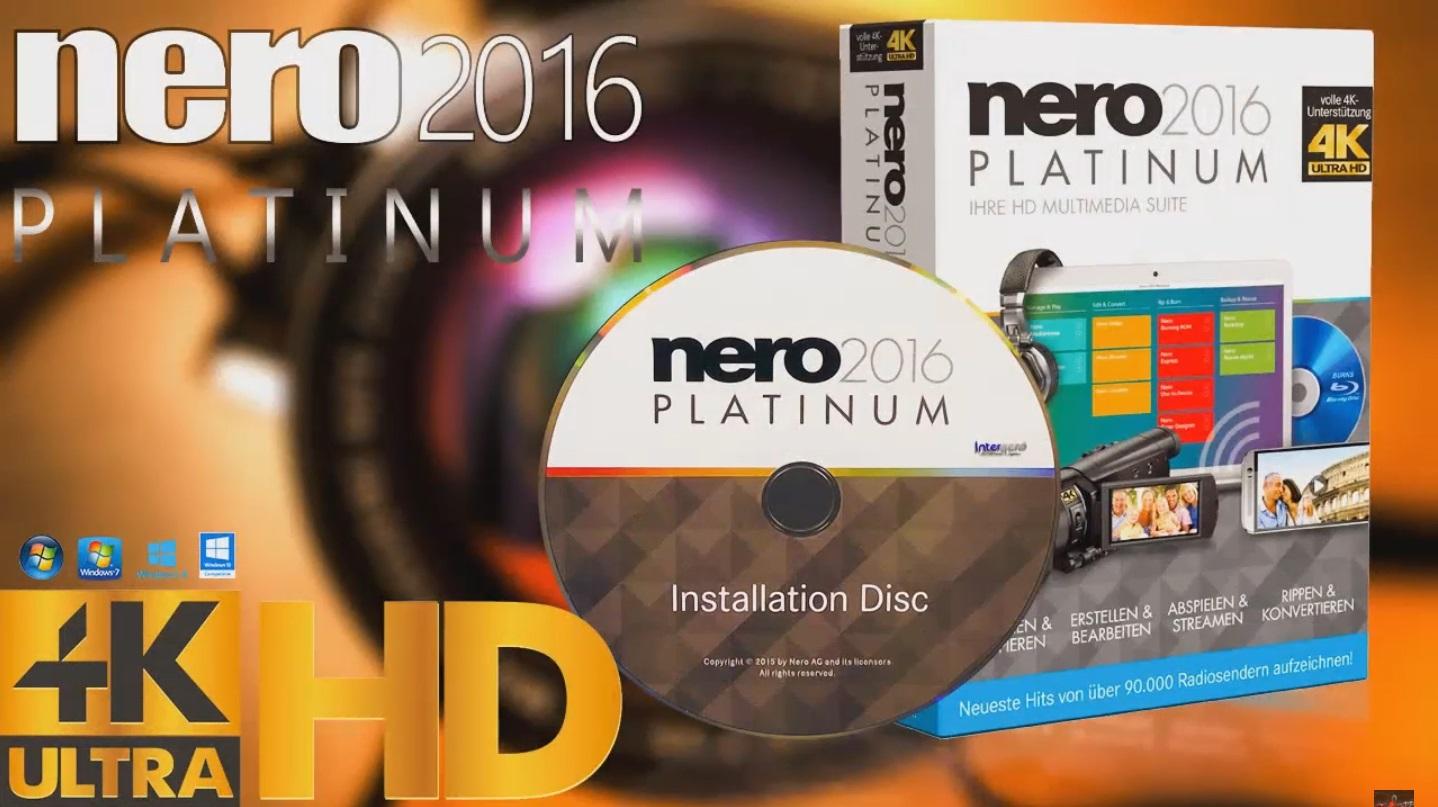 descargar nero 2016 64 bits full español