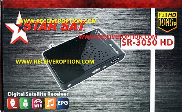 STAR SAT SR-3050 HD RECEIVER POWERVU KEY NEW SOFTWARE