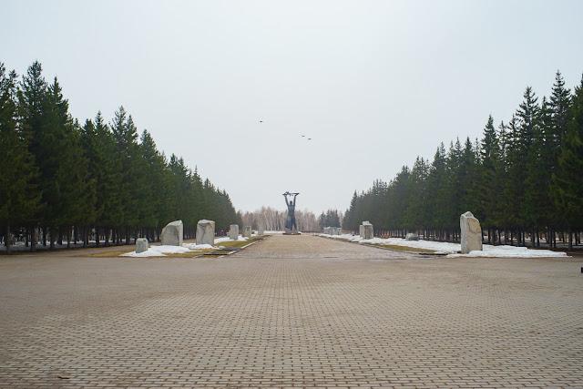 Парк Победы Омск