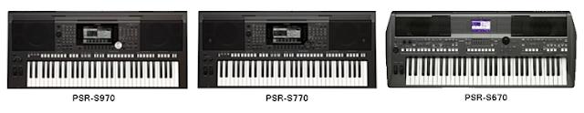 gambar Bermacam – macam alat music organ Yamaha PSR