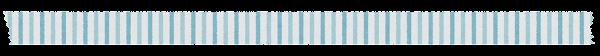 マスキングテープのイラスト「水色ストライプ」