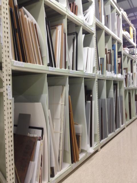 Inside The Conservator S Studio Storage For Framed Items