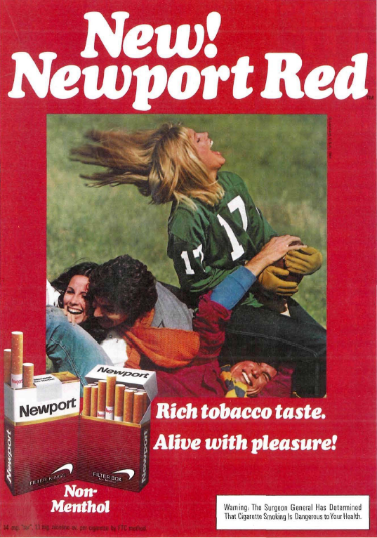 Alive With Pleasure Newport Adverts On Magazines From