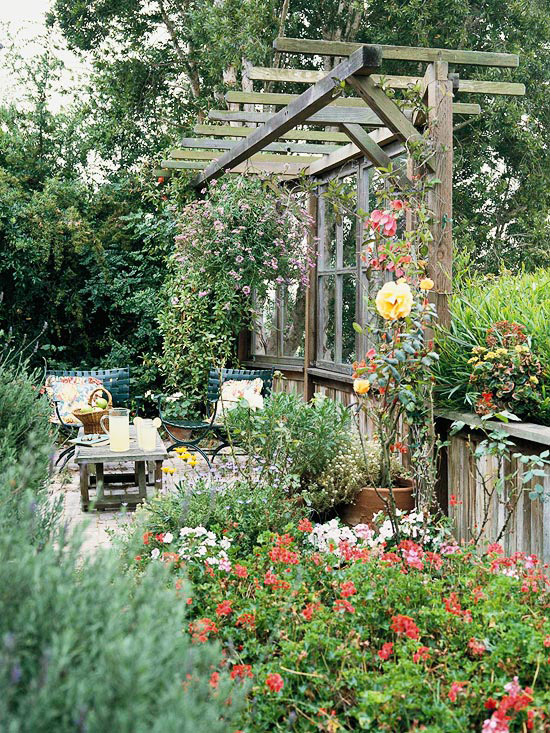 New Home Interior Design: Smart Side-Yard Solutions on Side Yard Pergola Ideas id=74633
