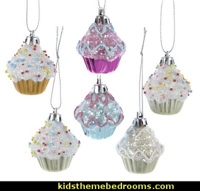 mini cupcakes Christmas tree ornaments  candy Christmas theme decorating - candy themed christmas decorations - christmas candyland decorations -  candy ornaments -  candy shaped holiday ornaments - candy themed Christmas decor -   lollipop candy swirls Throw Pillows - Candy Christmas Tree  - candy stripe Chritmas decor - Candy Cupcake Ornaments