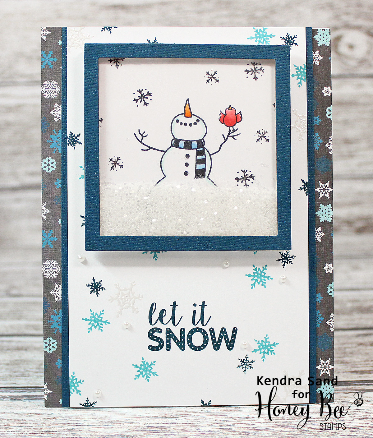 Luv 2 Scrap n' Make Cards: Sweet Snowman with Honey Bee Stamps - photo#48