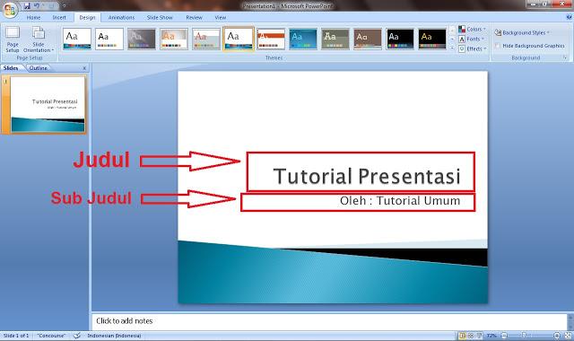 Cara Membuat PowerPoint yang Menarik Perhatian Audiens