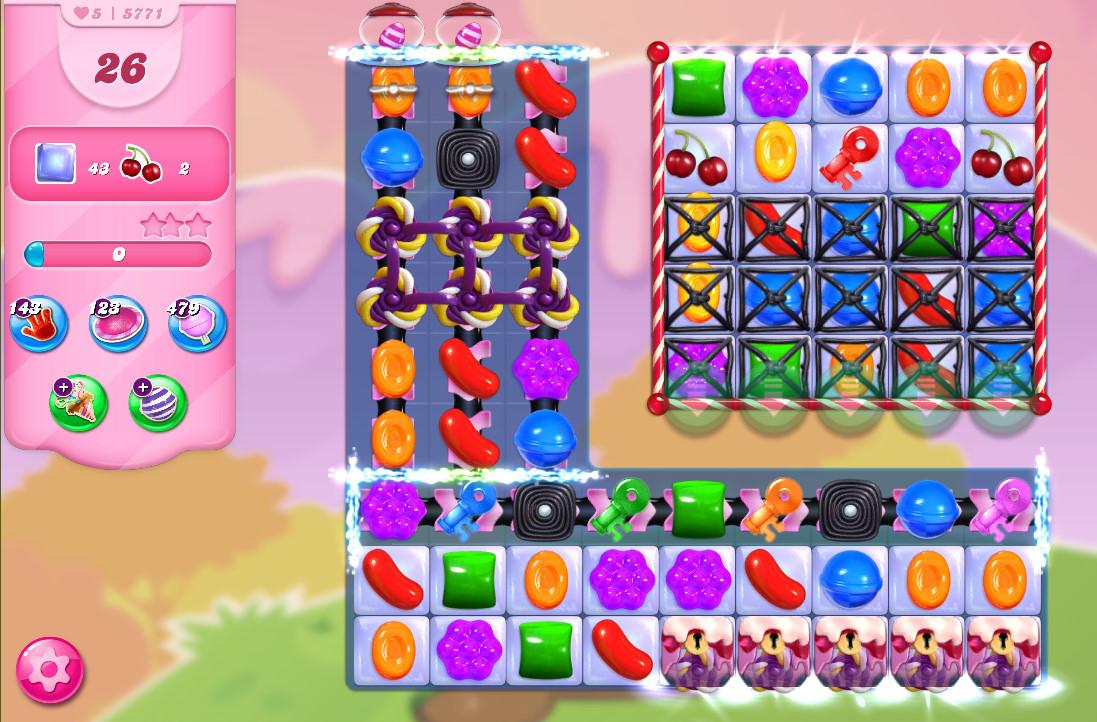 Candy Crush Saga level 5771