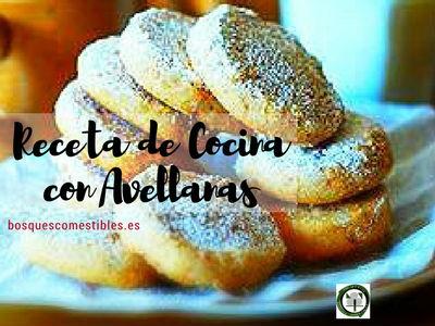 Galletas de Avellanas, esta receta de cocina es muy fácil de hacer