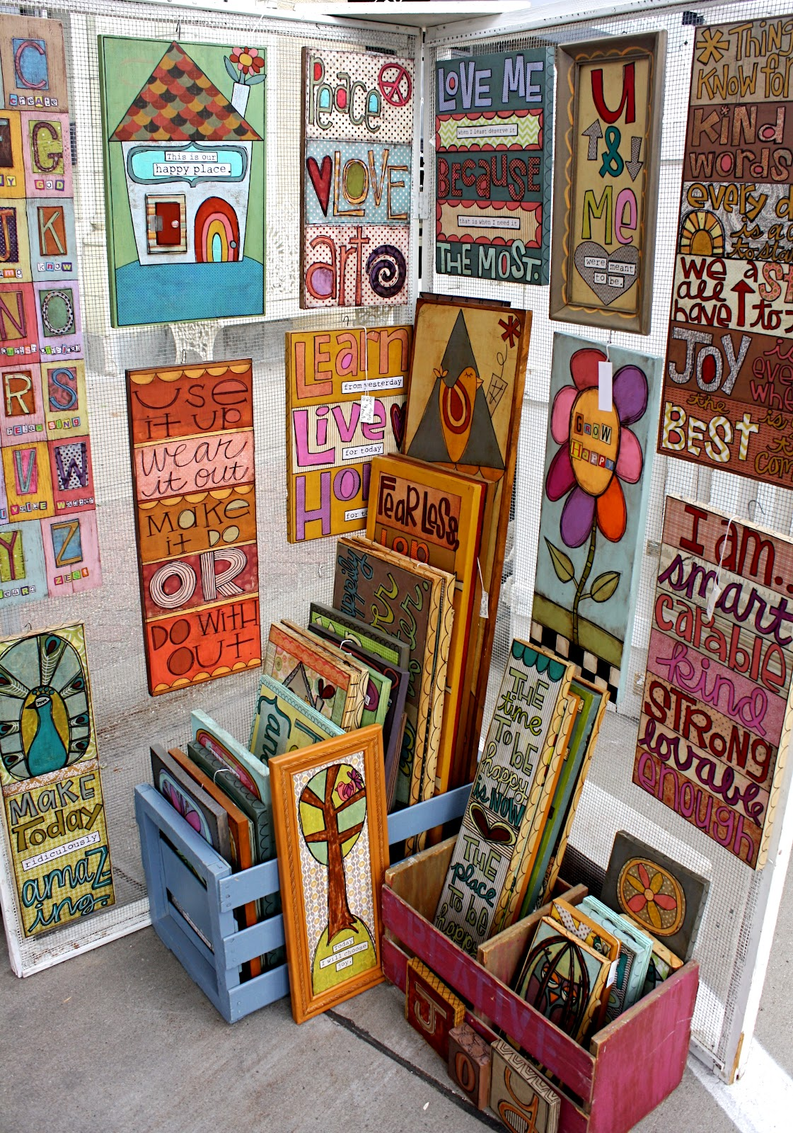 Craft Show Displays For Signs