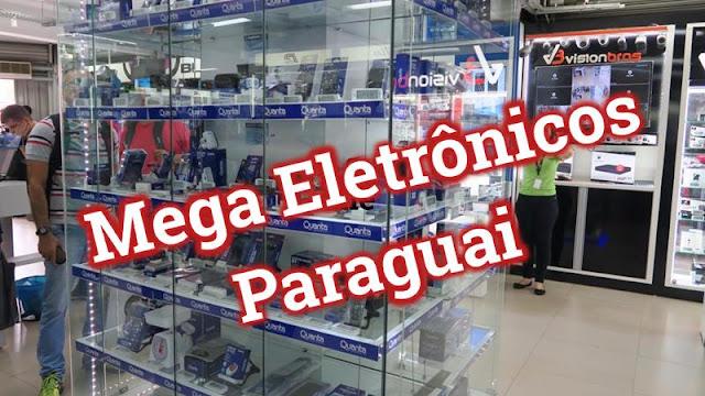 Loja Mega Eletrônicos, no Paraguai