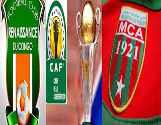 موعد مباراة مولودية الجزائر ورونيسونس والقنوات الناقلة 17-3-2017