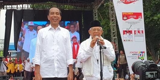 Jokowi: Jangan Sampai Ada yang Ngomong Curang, Dihitung Juga Belum