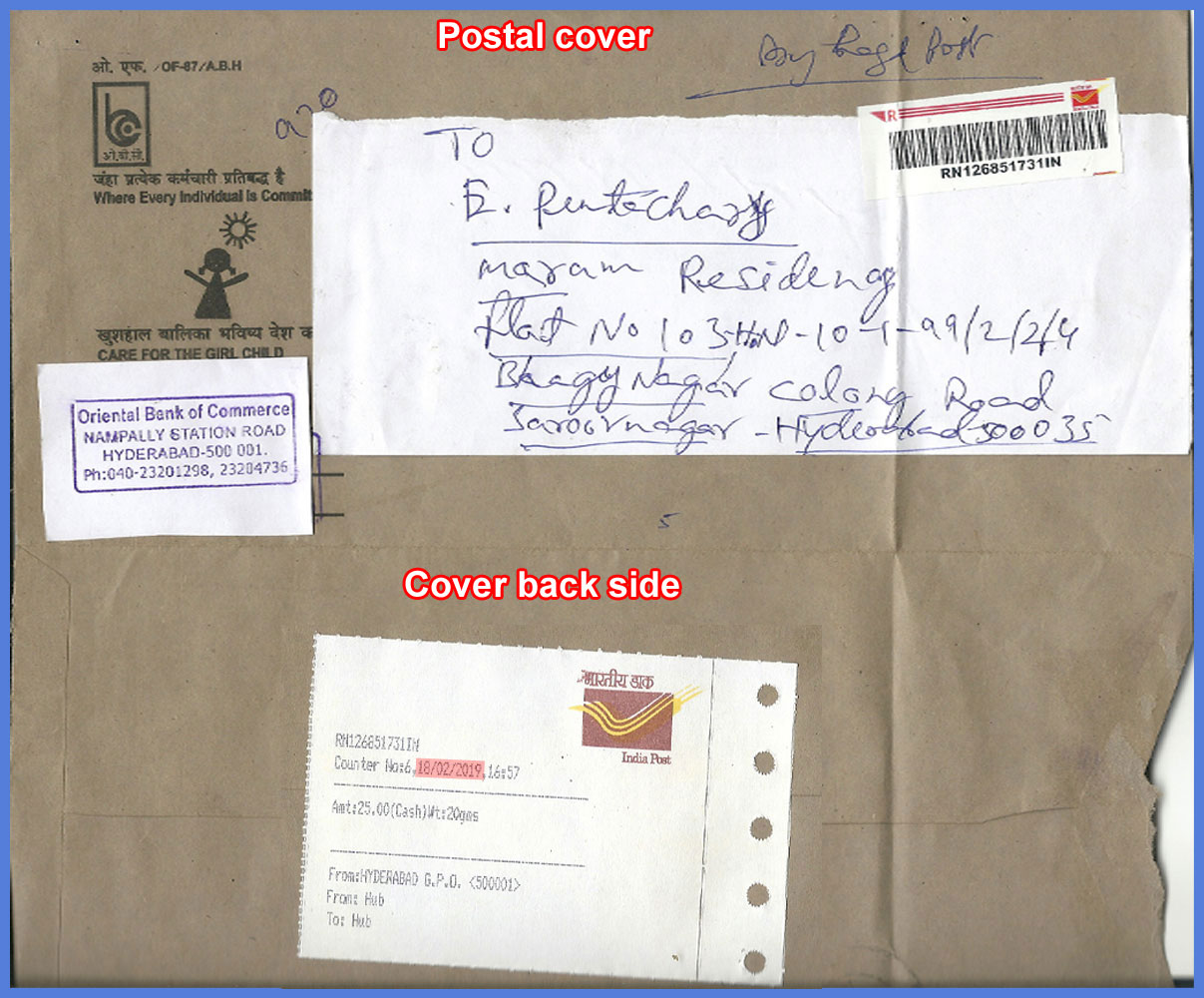 postal cover