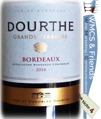 Dourthe Grands Terroirs Bordeaux 2014