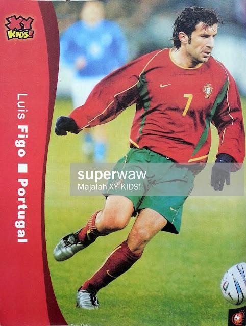 PIN UP LUIS FIGO (PORTUGAL)