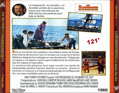 Los Robinsones de los mares del sur - [1960]
