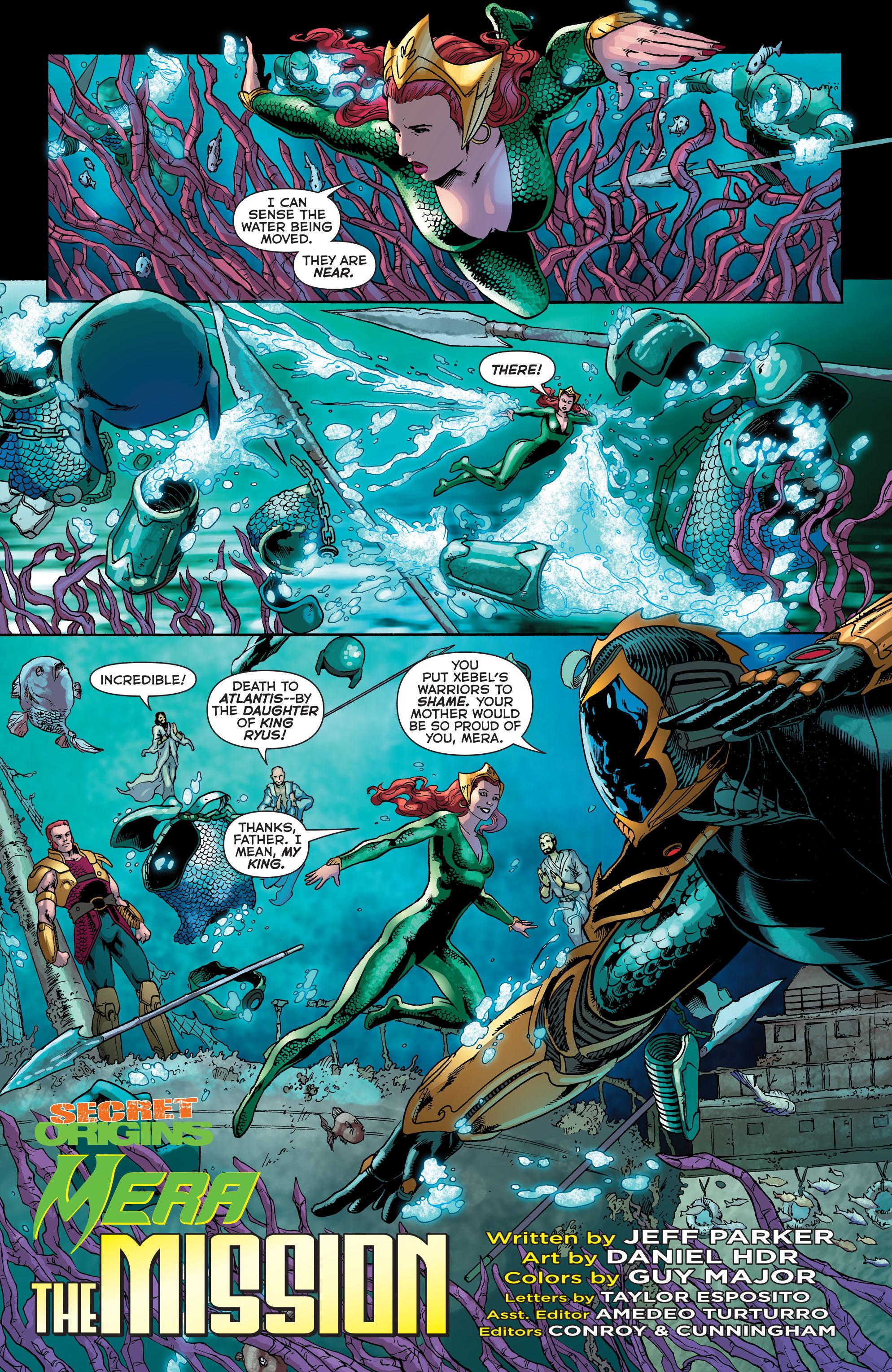 Read online Secret Origins (2014) comic -  Issue #5 - 25