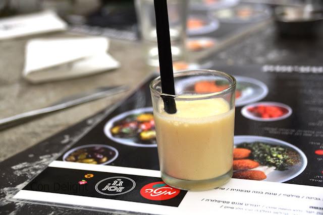 פסיפלורה אננס יוגורט קפה ג'ו Passion fruita pineapple yogurt