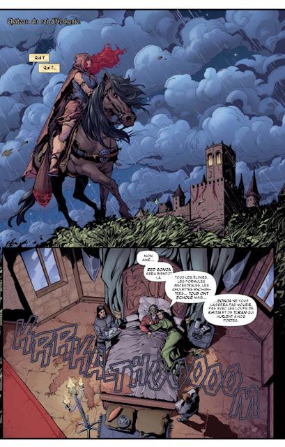 Red Sonja : le trône du faucon aux éditions Graph Zeppelin page 8