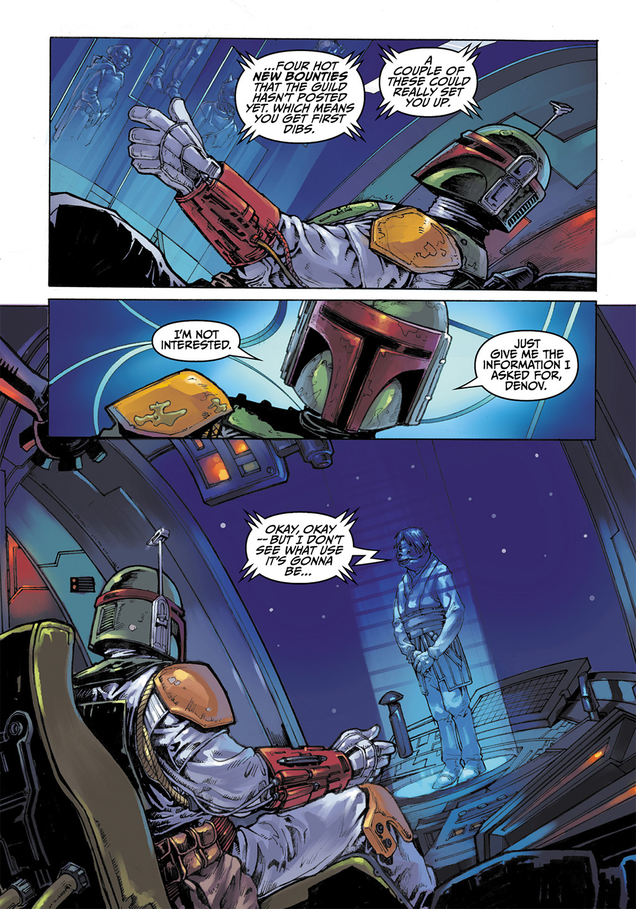 Read online Star Wars Adventures comic -  Issue # Issue Boba Fett and the Ship of Fear - 18