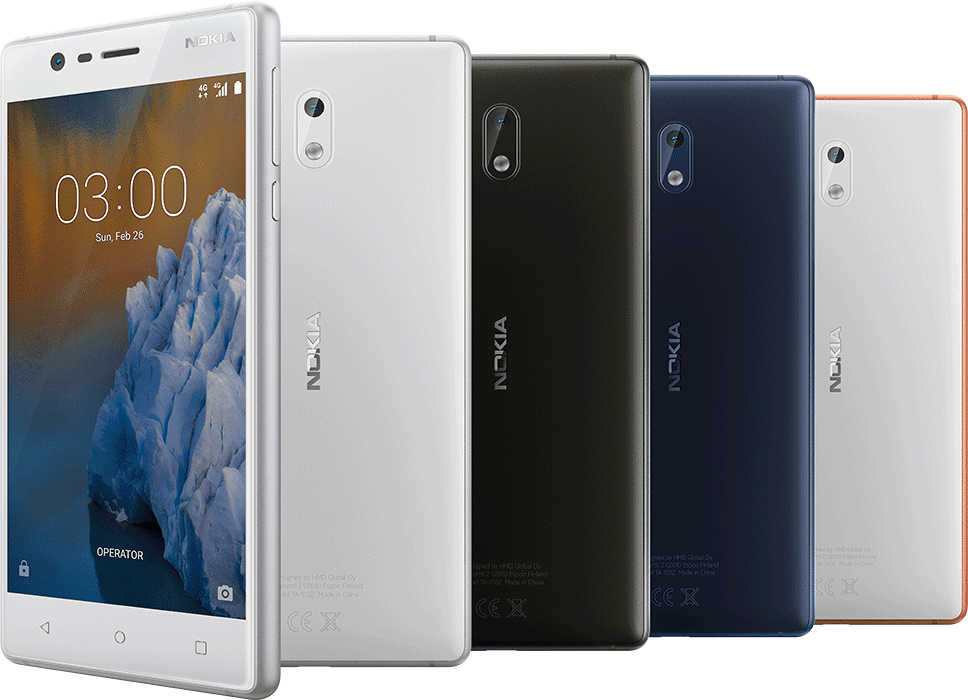 Nokia 3 In Different Colors And Views Kenya Price | Daily Updates