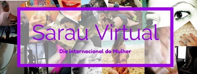 Sarau Virtual pelo Dia Internacional da Mulher