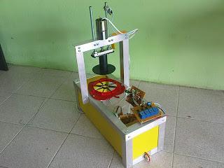 Projek Elektronik Km Mesin Potong Epal