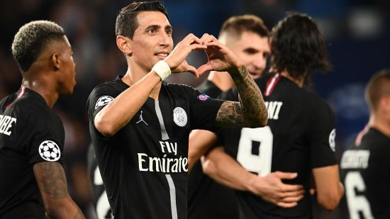 Paris Saint Germain PSG Angel  Di Maria