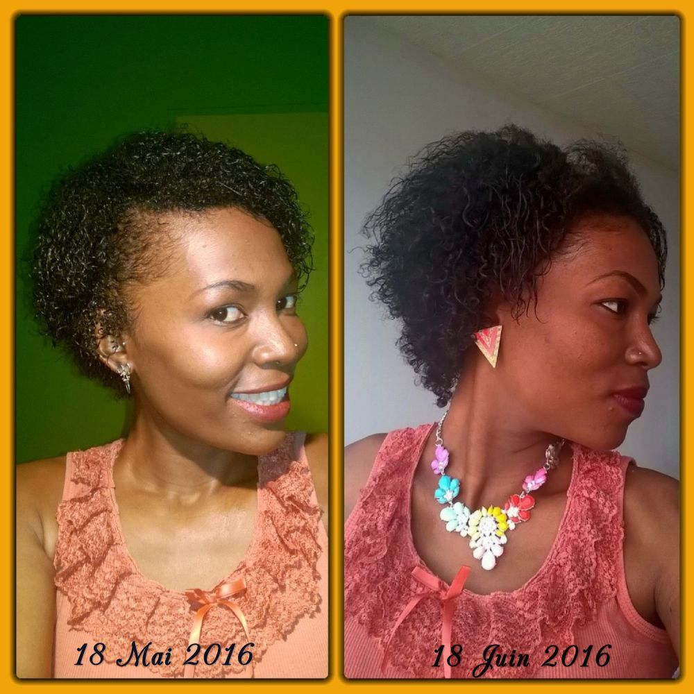 ma ma natural hair addict 1 mois post big chop challenge pousse mac rat huileux au piment. Black Bedroom Furniture Sets. Home Design Ideas