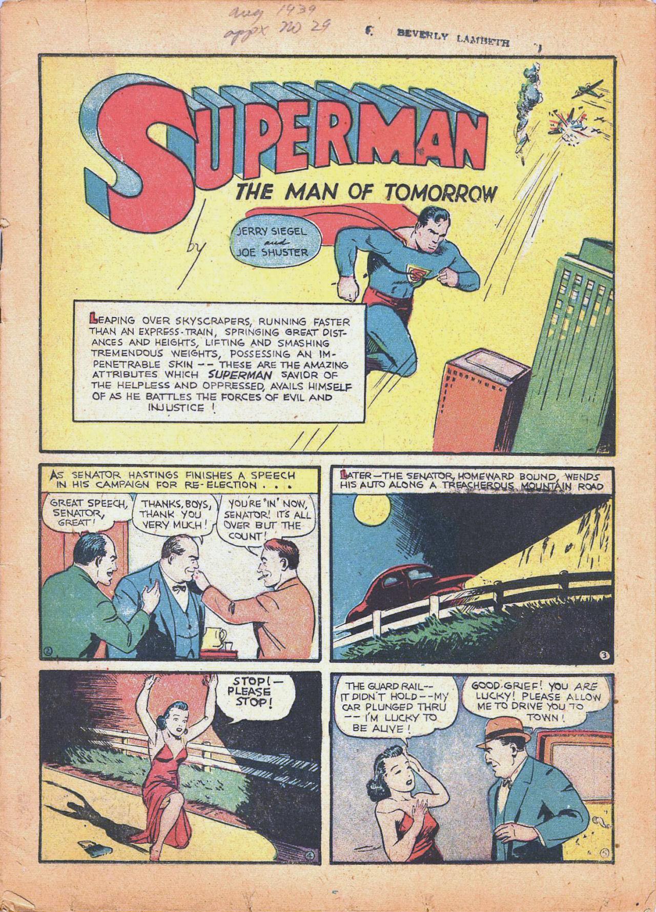 Action Comics (1938) 18 Page 2