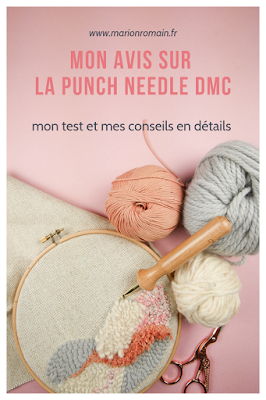 Test de la punch needle DMC