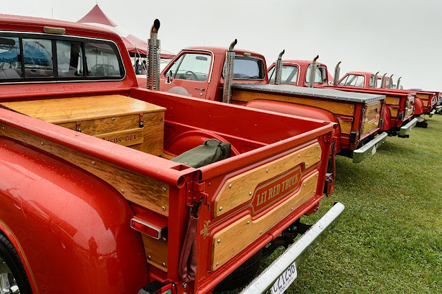 Lil Red Trucks gather at Carlisle