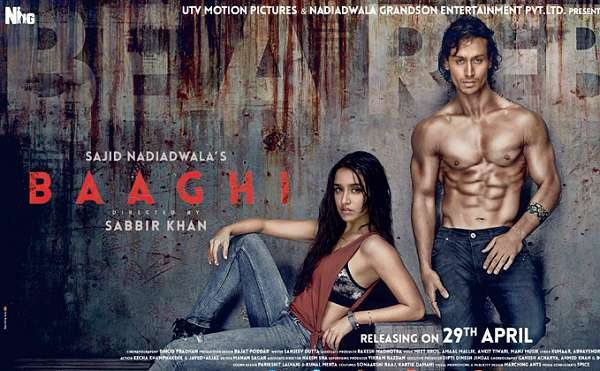 Baaghi -Movie -Tickets -Advance -Booking