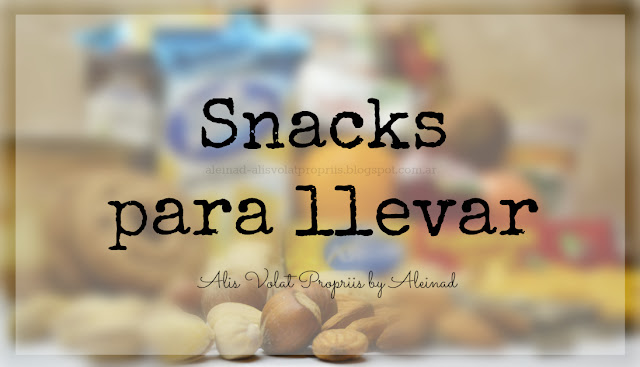 Snacks on the go - Colaciones para llevar