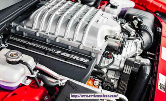 2017 Dodge Charger SRT Hellcat Engine
