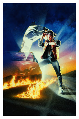 Back to the Future Art Print Version Timed Edition Screen Print by Drew Struzan x Hero Complex Gallery